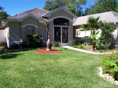 Citrus Springs Single Family Home For Sale: 2490 W Newhope Lane