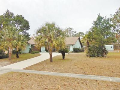 Pine Ridge Single Family Home For Sale: 2697 W Axelwood Drive