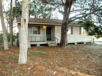Levy County Single Family Home For Sale: 34 Allen Avenue