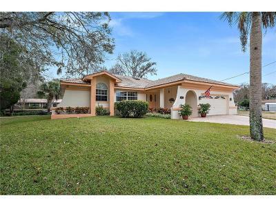 Homosassa, Dunnellon Single Family Home For Sale: 4055 S Jefferson Point