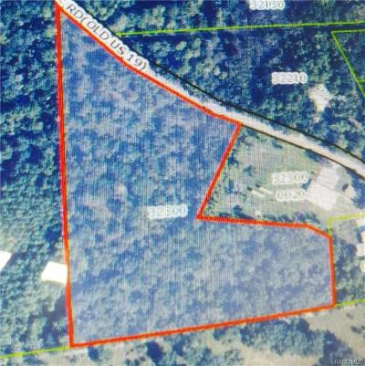 Citrus County Residential Lots & Land For Sale: 6150 N Tallahassee Road