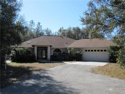 Hernando FL Single Family Home For Sale: $299,900