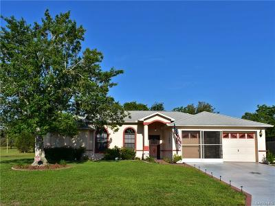 Lecanto Single Family Home For Sale: 254 N Lombardy Point