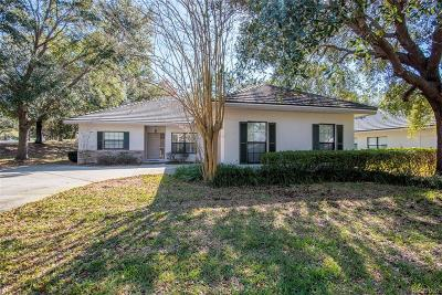 Lecanto Single Family Home For Sale: 2909 N Osprey Cove Point