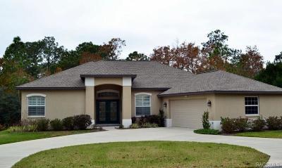 Citrus County Single Family Home For Sale: 11 Primula Drive