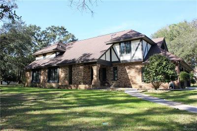 Hernando Single Family Home For Sale: 2290 N Heritage Oaks Path