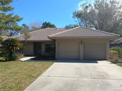 Lecanto Single Family Home For Sale: 2980 W Plantation Pines Court