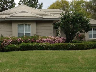 Lecanto Single Family Home For Sale: 3196 N Barton Creek Circle