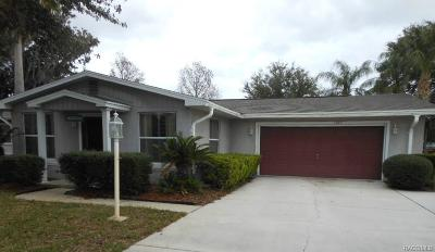Inverness Single Family Home For Sale: 1705 S Paradise Point