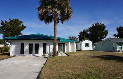Crystal River Single Family Home For Sale: 11747 W Sunnybrook Court