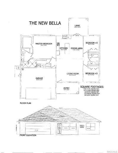 Citrus Springs Single Family Home For Sale: 3191 W Wilhelm Street
