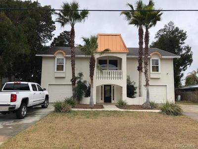 Crystal River Single Family Home For Sale: 1800 NW 20th Avenue