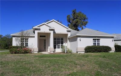 Hernando Single Family Home For Sale: 3049 N Folkestone Loop