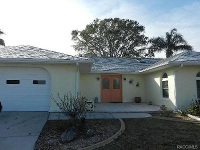 Homosassa, Dunnellon Single Family Home For Sale: 5025 S Prices Point