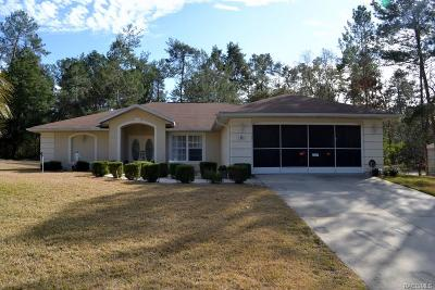 Homosassa Single Family Home For Sale: 66 Bells Of Ireland Court