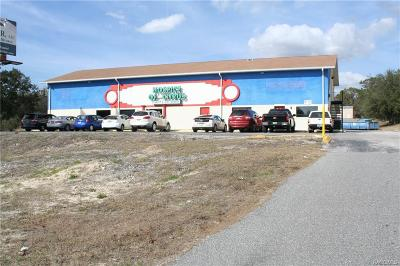 Citrus County Commercial For Sale: 1581 W Gulf To Lake Highway
