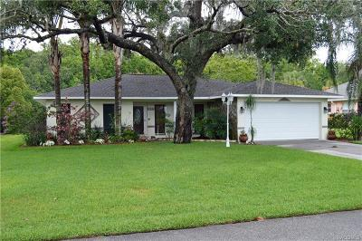 Crystal River Single Family Home For Sale: 1025 SE 5th Avenue