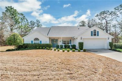 HOMOSASSA Single Family Home For Sale: 3 Portulaca Court S