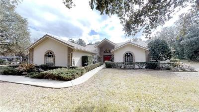 Hernando Single Family Home For Sale: 1502 E Wedgewood Lane