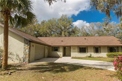 Crystal River Single Family Home For Sale: 5856 N Brookgreen Drive