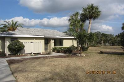 Crystal River FL Condo/Townhouse For Sale: $169,000