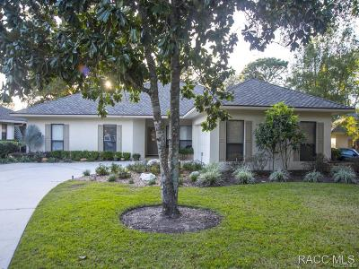 Lecanto Single Family Home For Sale: 3398 N Bent Tree Point