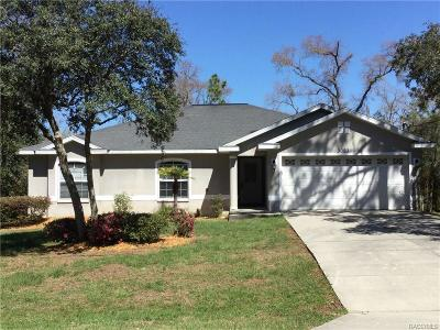 Citrus Springs Single Family Home For Sale: 3093 W Edison Place