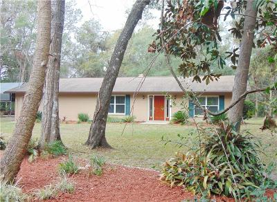 HOMOSASSA Single Family Home For Sale: 6042 S Royal Drive