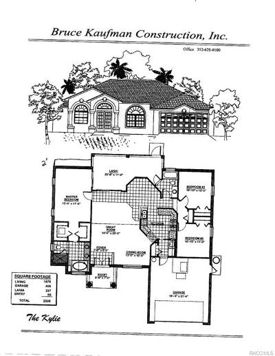 Citrus Springs Single Family Home For Sale: 1342 W Kenmore Drive
