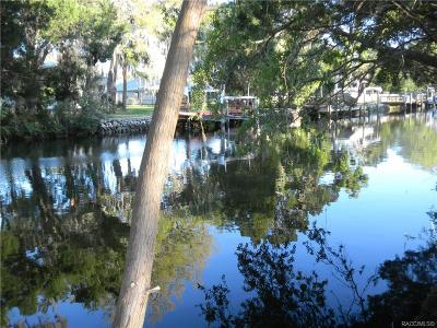 Citrus County Residential Lots & Land For Sale: 11886 W Riverhaven Drive