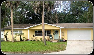 Crystal River Single Family Home For Sale: 956 N Hollywood Circle