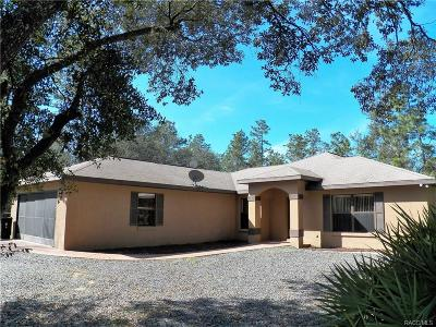 Single Family Home For Sale: 7360 SW 137th Court Road
