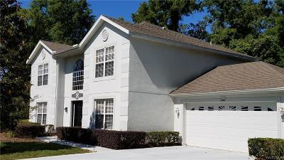 Homosassa Single Family Home For Sale: 2 Beverly Court