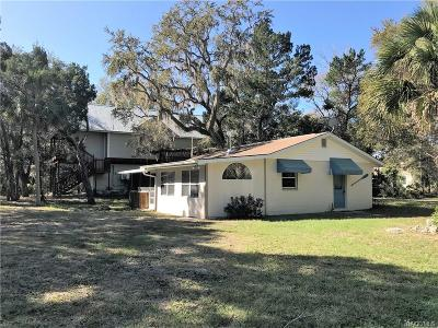 Homosassa, Dunnellon Single Family Home For Sale: 12014 W Cedar Gate Lane