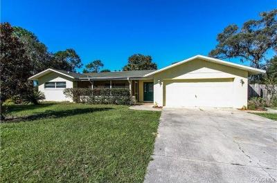 Crystal River Single Family Home For Sale: 1117 NE 1st Terrace