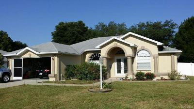 Inverness FL Single Family Home For Sale: $179,900