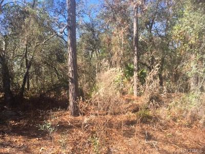 Sugarmill Woods Residential Lots & Land For Sale: 12 Black Willow Court S