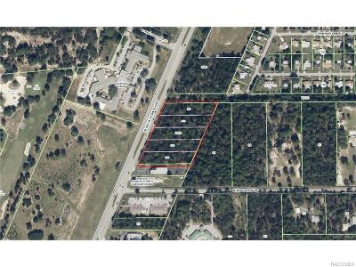 Lecanto Residential Lots & Land For Sale: 2743 N Lecanto Highway