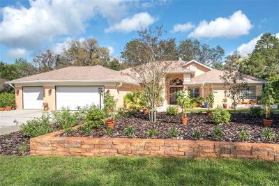 Homosassa Single Family Home For Sale: 8 Byrsonima Court