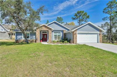 Lecanto FL Single Family Home For Sale: $234,900