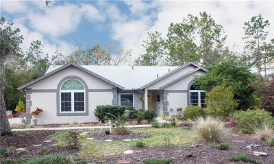 HOMOSASSA Single Family Home For Sale: 11 Lidflower Court