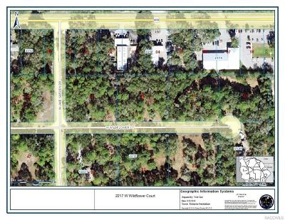 Dunnellon Residential Lots & Land For Sale: 2217 W Wildflower Court