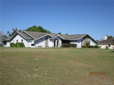 Inverness Single Family Home For Sale: 4681 E Liza Knowlton Drive