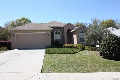 Hernando Single Family Home For Sale: 434 W Cobblestone Loop #50