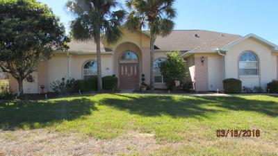 Citrus Hills - Clearview Estates Single Family Home For Sale: 1230 N Spend A Buck Drive