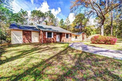 Lecanto Single Family Home For Sale: 1400 N Castleland Terrace