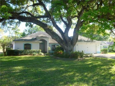 Hernando FL Single Family Home For Sale: $260,000