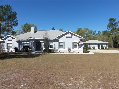 Dunnellon Single Family Home For Sale: 10430 SE 126th Terrace