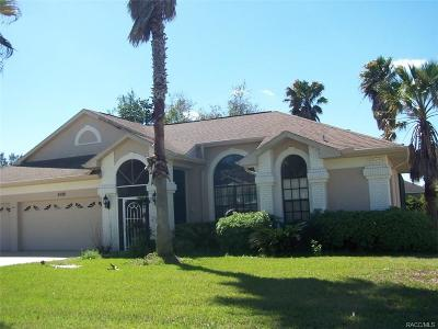 Lecanto FL Single Family Home For Sale: $249,900