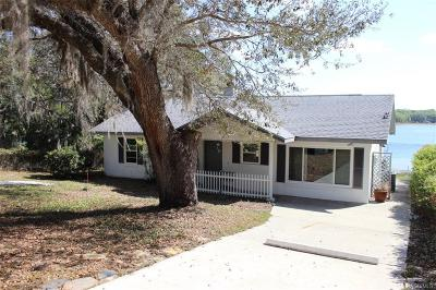 Dunnellon Single Family Home For Sale: 2100 SW Shorewood Drive